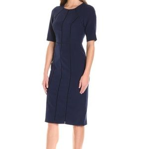 NWT Maggy London navy sheath dress